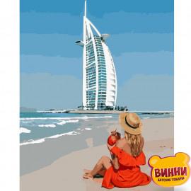 Купити картину за номерами Strateg Дівчина в Дубаї, 40*50 см, VA-2923