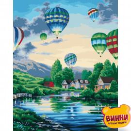 Картина по номерам Воздушные шары, 40*50 см KHO2221