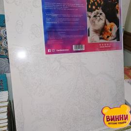 Купить картину по номерам Artissimo Котики-муркотики, 40*50 см, 50*60 см, PN4200