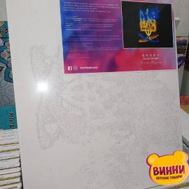 Купити картину за номерами Artissimo Слава Україні, герб України, тризуб 40*50 см, 50*60 см, PN1480