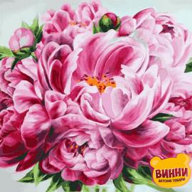 Купить картину по номерам Mariposa Пионы, 40*50 см Q2283