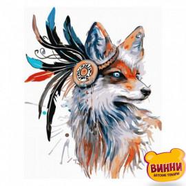 Купити картину за номерами Strateg Лис з племені, 30*40 см, SV-0009