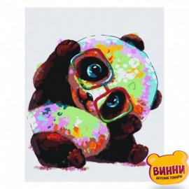 Різнобарвна панда, 30*40 см, SV-0055