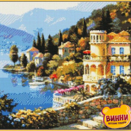 Купити алмазну мозаїку Babylon Квітуче узбережжя, 40*50 см, ST019