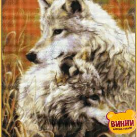 Купити алмазну мозаїку Babylon Вовки, 40*50 см, ST034