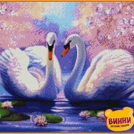 Лебеді, 40*50 см, ST035