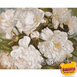 Купити картину за номерами Ідейка, Білосніжна краса © Юлія Томеско, 40*50 см KHO2985