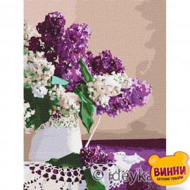 Купити картину за номерами Ідейка, Ранок кольору бузку ©Ira Volkova, 30*40 см KHO3173