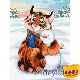 Сніговий друг © Софія Нікуліна, 30*40 см KHO4246