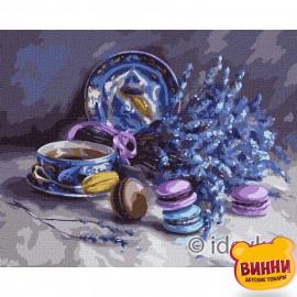 Купити картину за номерами Ідейка, Натюрморт з лавандою © Юлія Томеско , 40*50 см, KHO5610
