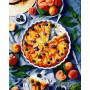 Купити картину за номерами Ідейка, Персикова спокуса ©alonka_good, 40*50 см, KHO5611