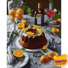 Купити картину за номерами Ідейка, Апельсинова насолода ©alonka_good, 40*50 см, KHO5616