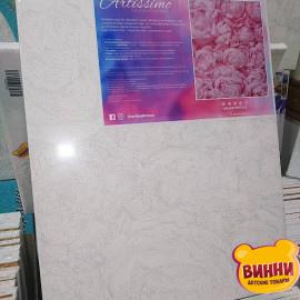 Купити картину за номерами Artissimo Ніжність півонії, 40*50 см, 50*60 см, PNX5103