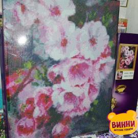 Купити алмазну мозаїку Пора цвітіння, сакура, 30*40 см, на підрамнику, в коробці, H8749