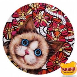Купити алмазну мозаїку Котик, 30*40 см, на підрамнику, в коробці, H8705