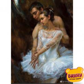 Купити алмазну мозаїку Артисти балета, 30*40 см, на підрамнику, в коробці, H8698