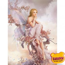 Квіткова фея, 30*40 см, на підрамнику, в коробці, H8711