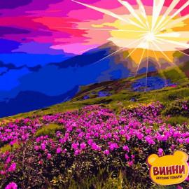Купить картину по номерам Babylon Горные цветы 40*50 см VP1165