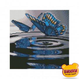 Купити алмазну мозаїку STRATEG, Метелики на воді, 30*30 см, CA-0026