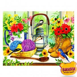 Купити алмазну мозаїку Птахи, 30*40 см, GB74915