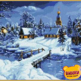 Купити алмазну мозаїку Babylon Зимова казка, 40*50 см, ST169