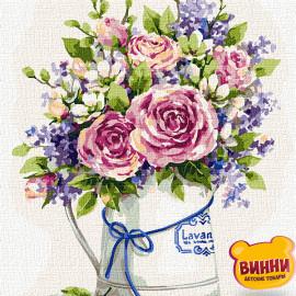 Купити картину за номерами Ідейка, Чарівне поєднання квітів © Олена Вавіліна, 30*40 см KHO3160
