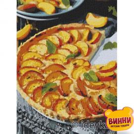 Купити картину за номерами Ідейка, Персиковий пиріг ©alonka_good, 30*40 см KHO5617