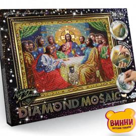 """Набор для творчества """"Алмазная мозаика Diamond mosaic"""", 30*40 см, в коробке, святая вечеря"""